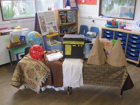 Hajj Idea 1 – Nursery/School Presentations on Hajj and Eid