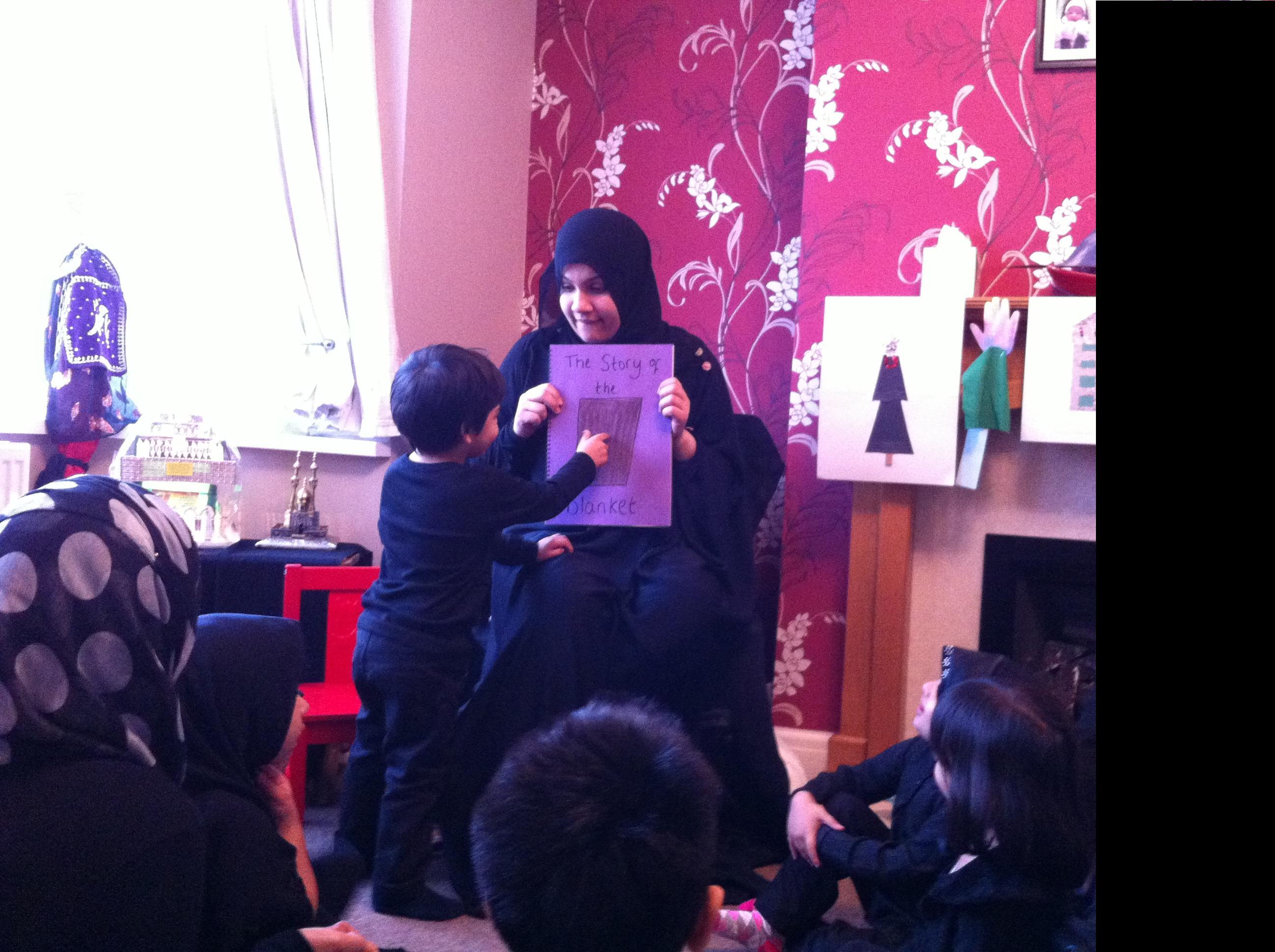 Ashra Idea 1 – Hold a Children's Majlis