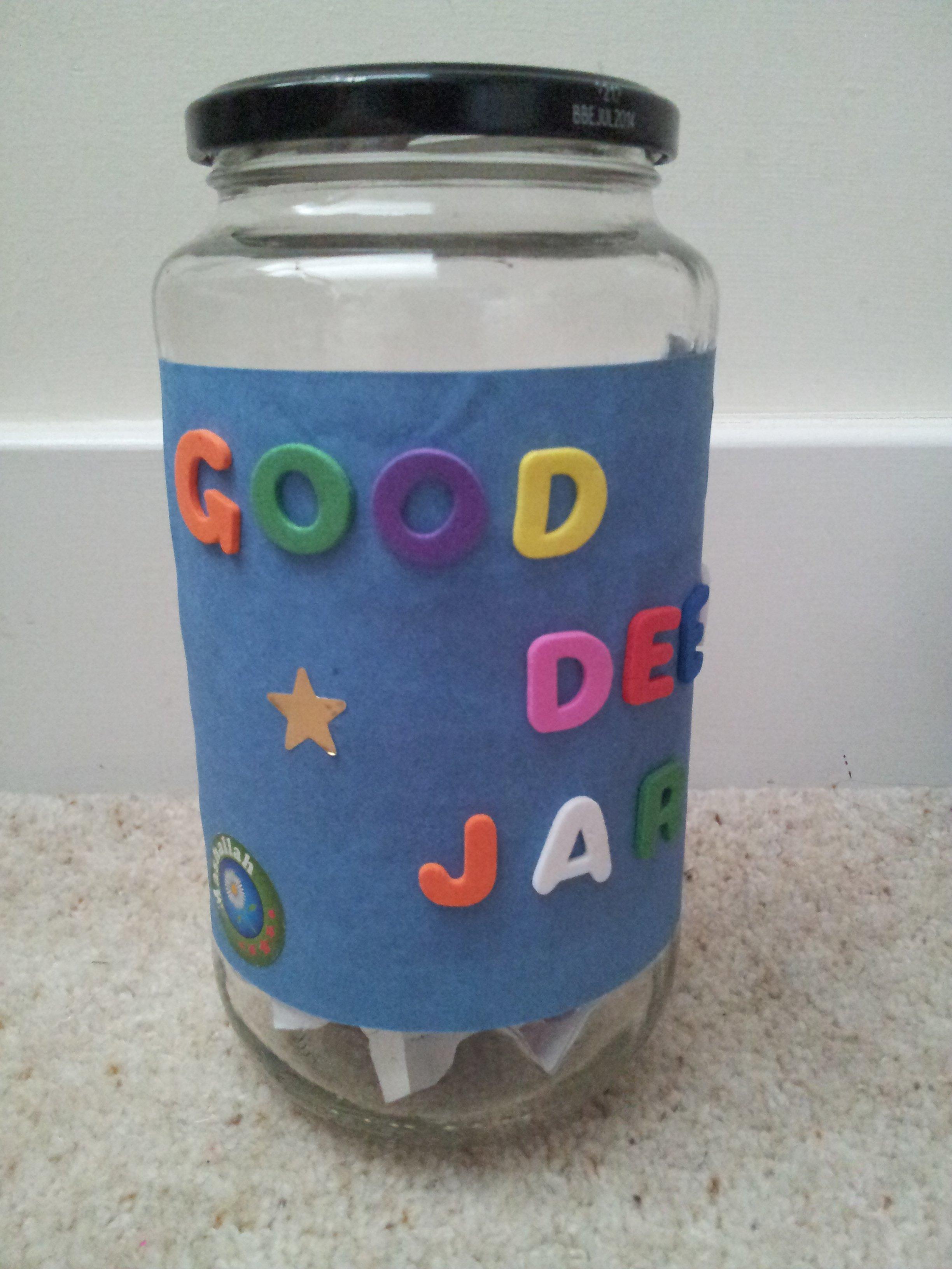 Rajab Idea 5: A Good Deed Jar