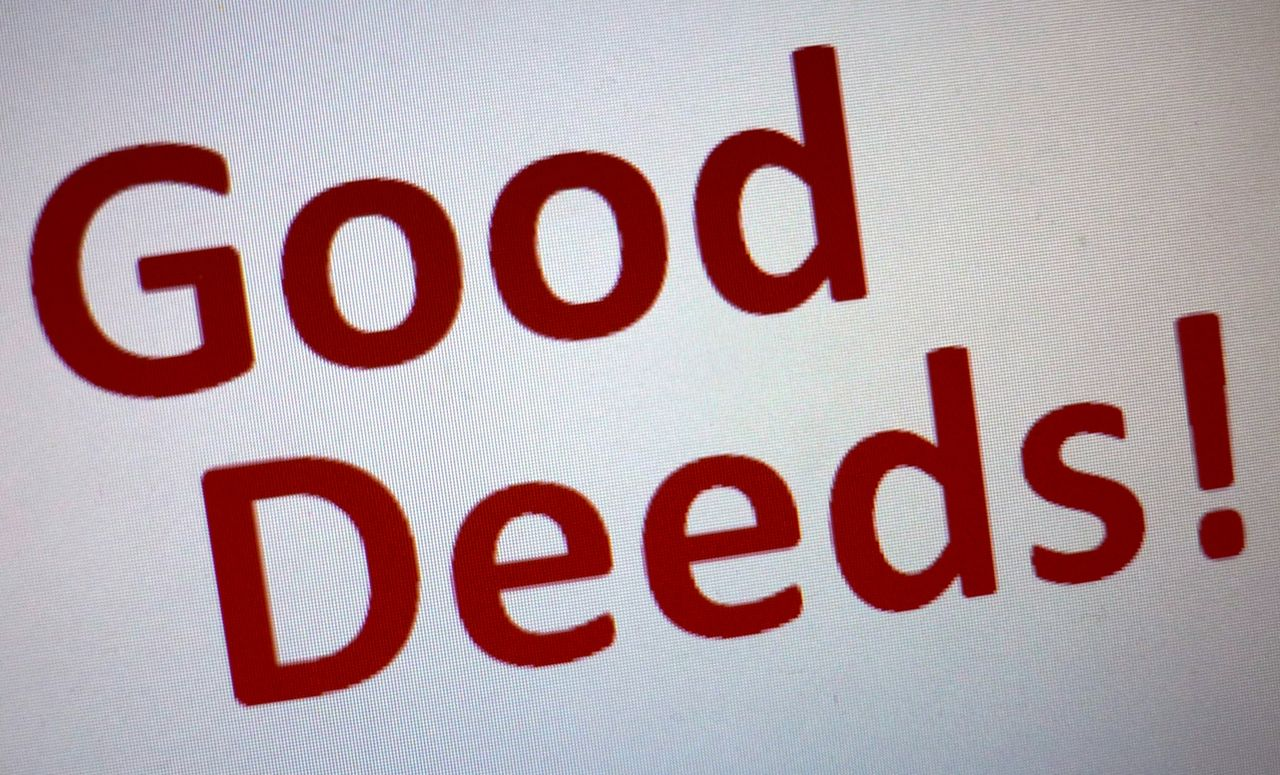 Good Deed Series – 7. Inspiration
