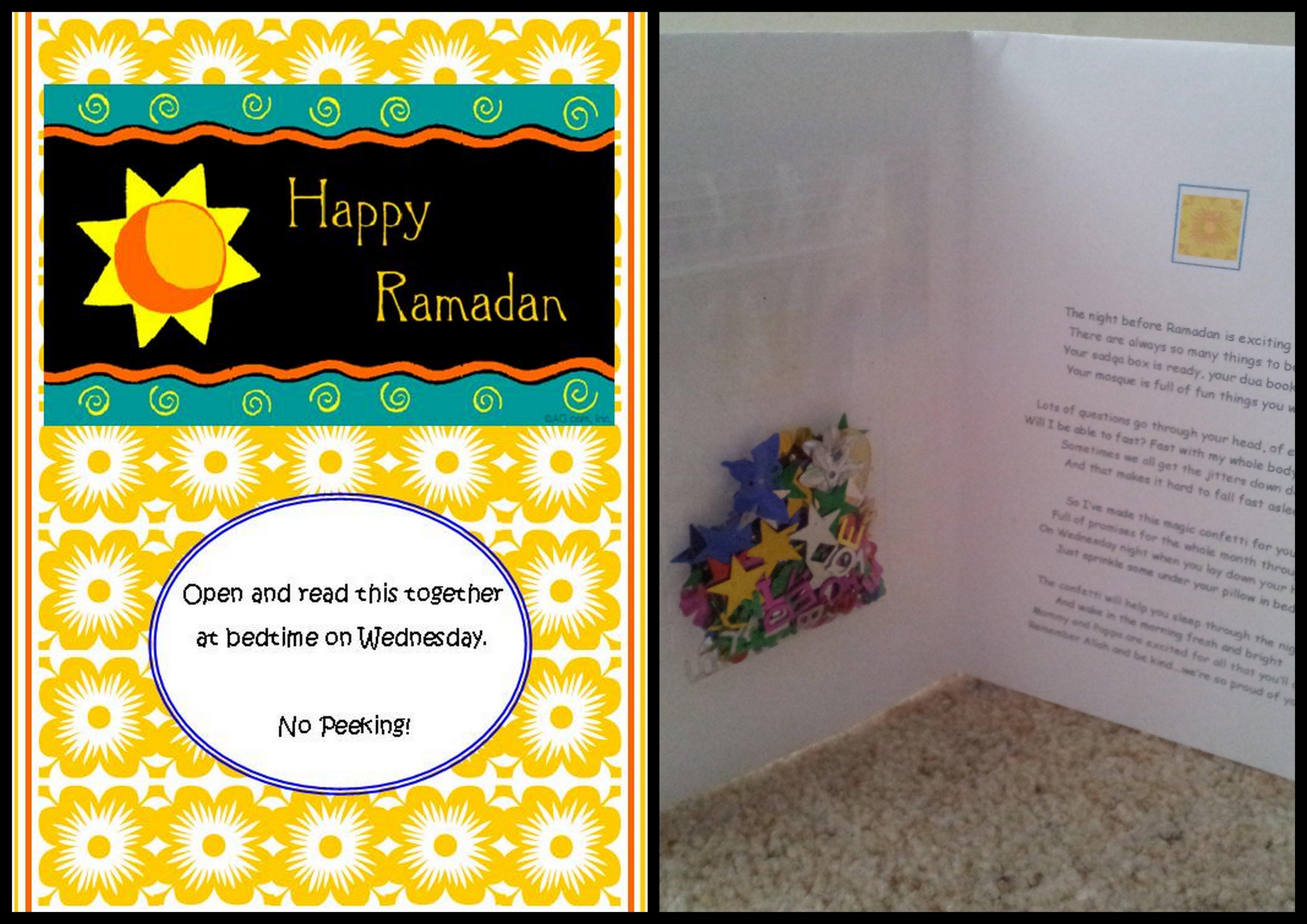 Ramadan Idea 4: The Night Before Ramadan