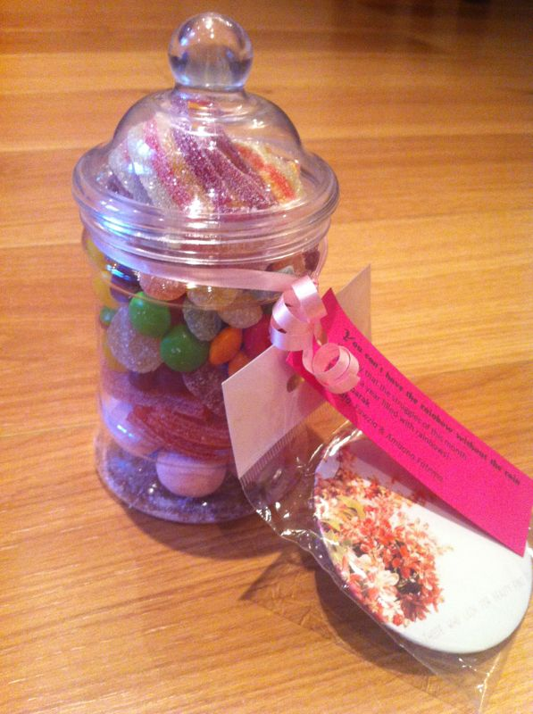 Thoughtful Gift Ideas 2: Pot of sweets