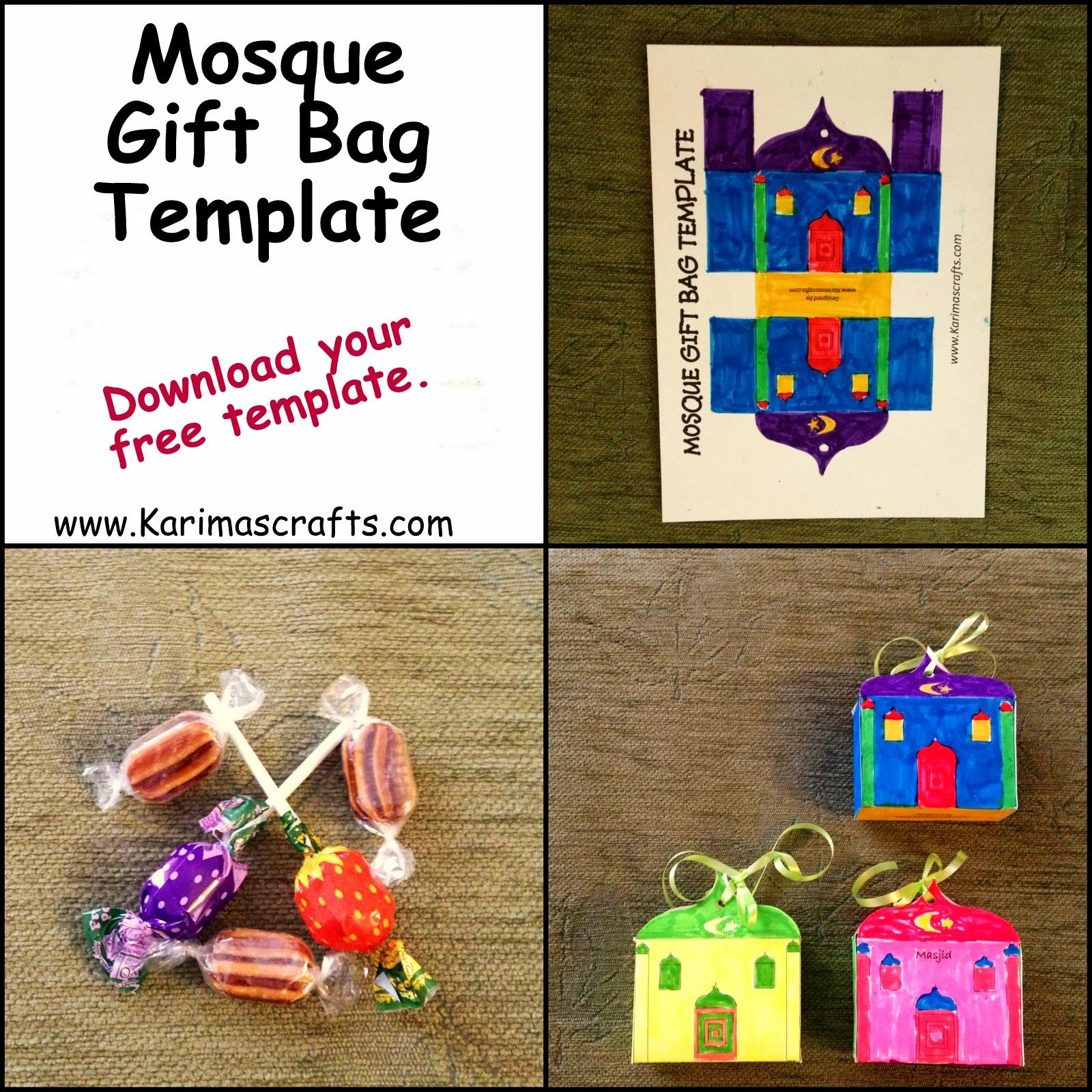 Thoughtful Gift Ideas 9: Make Your Own Mosque Gift Bag