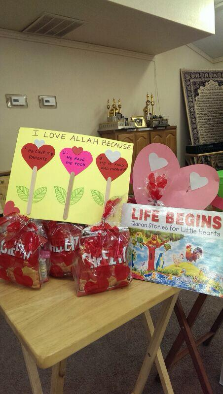 Valentine's Day at an Islamic Mother and Toddler Group