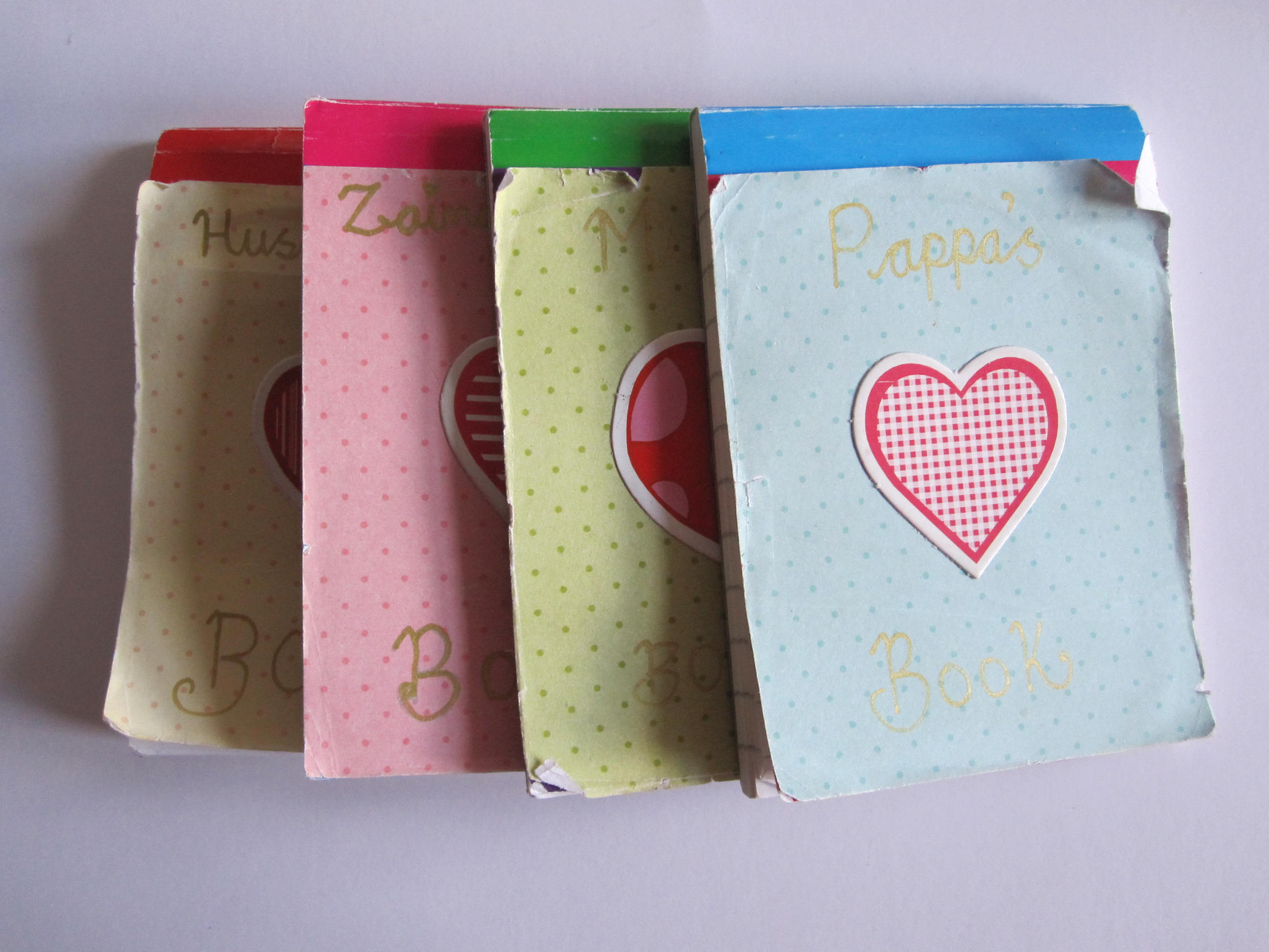 Words of Affirmation Idea – Love Books!