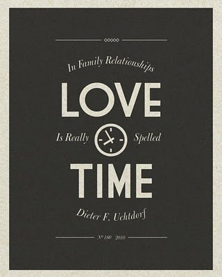 Love Language #3: Quality Time