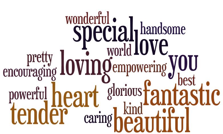 Love Language #5: Words of Affirmation