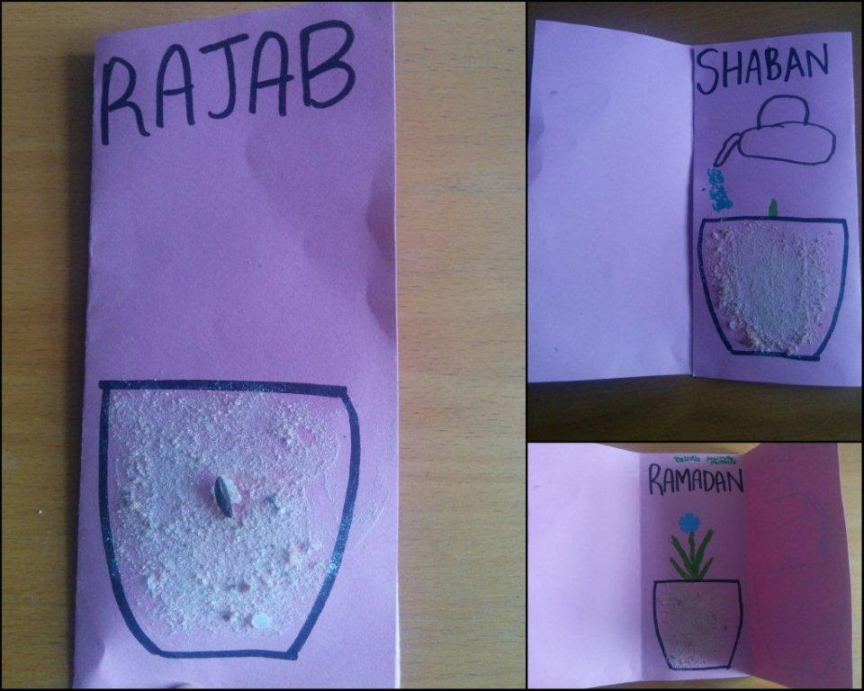 Rajab Idea 7: Arts and Crafts for this month