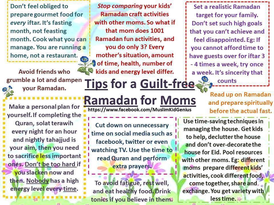 Ramadan articles for us parents!