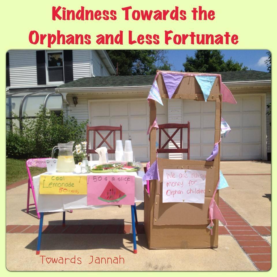 Fundraising Idea 2: A Lemonade Stand!
