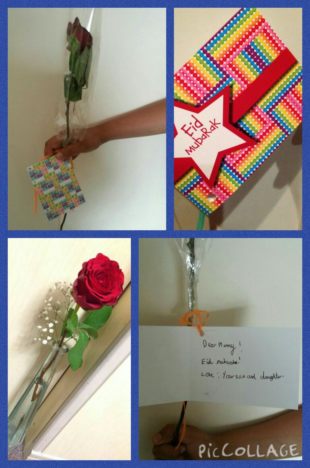Fundraising idea 21: Buy a rose for your mum on Eid day