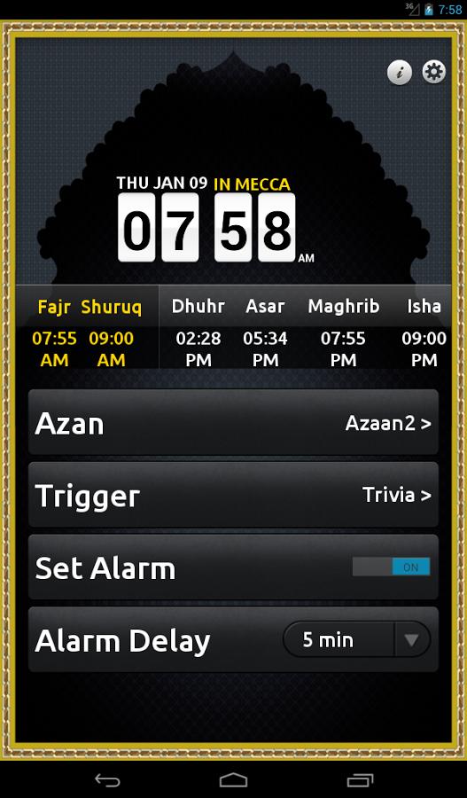 App 14 – Never Miss Fajr App