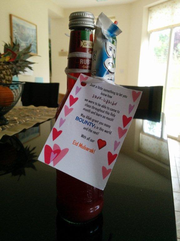 Thoughtful Gift Ideas 15: Soda/Bounty