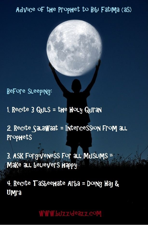 Bedtime Series – Idea 5: A short but sweet checklist