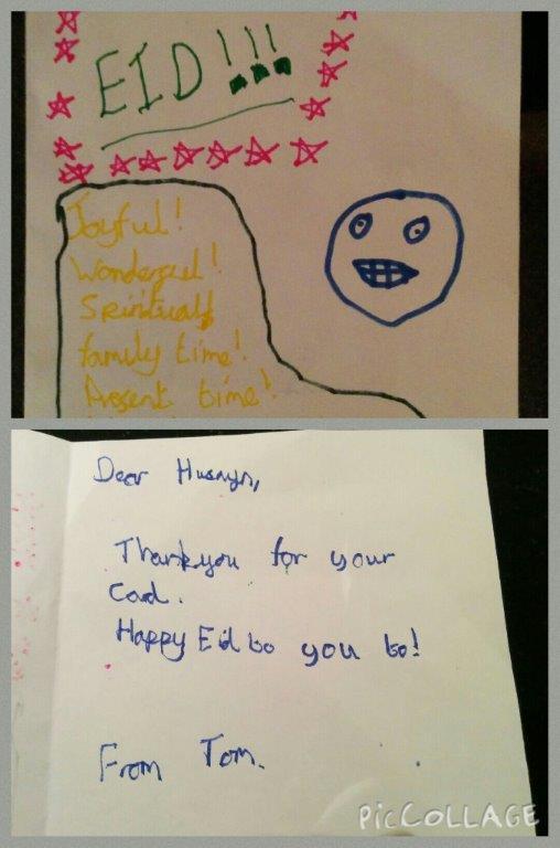 Celebrating Eid: Idea 7 – Sharing it with School (Staff and Classmates)