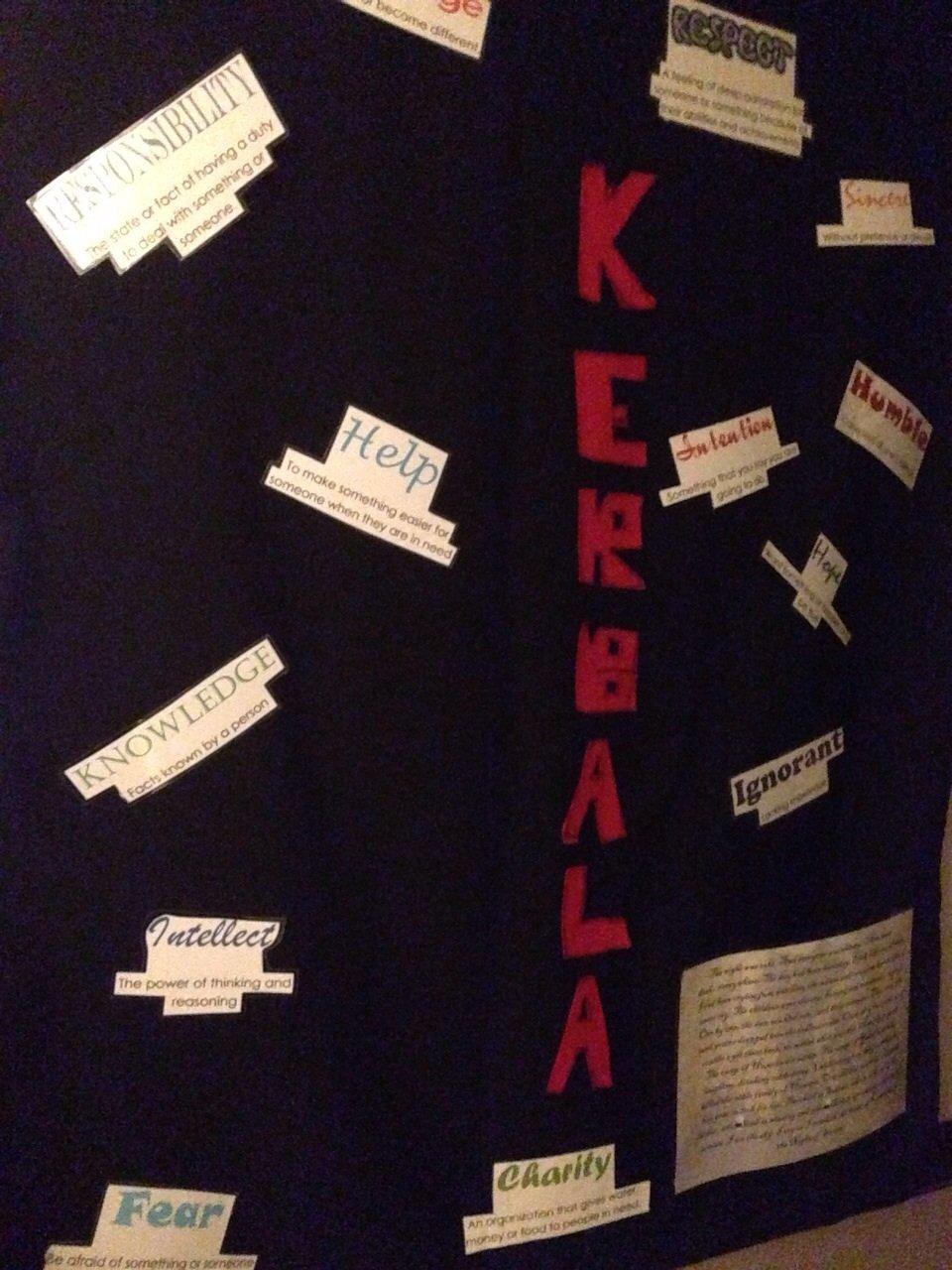 Muharram Idea 18 – Kerbala Wall Displays