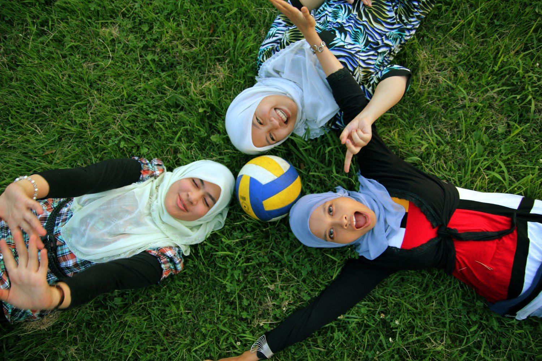 In solidarity with Myuslim teenagers everywhere