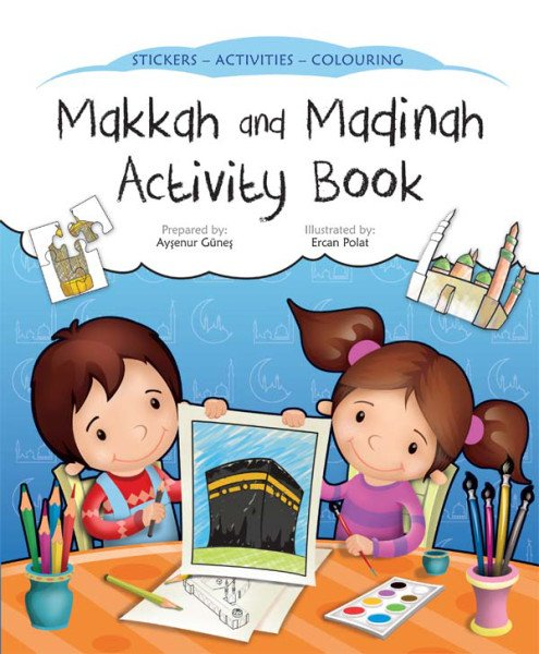 Umrah Idea 14: Makkah and Madina Activity Book