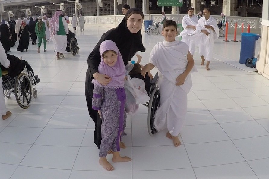 Umra with young children