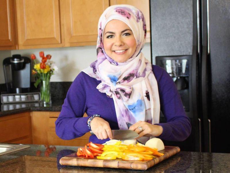 First Hijaab-wearing Chef on US TV