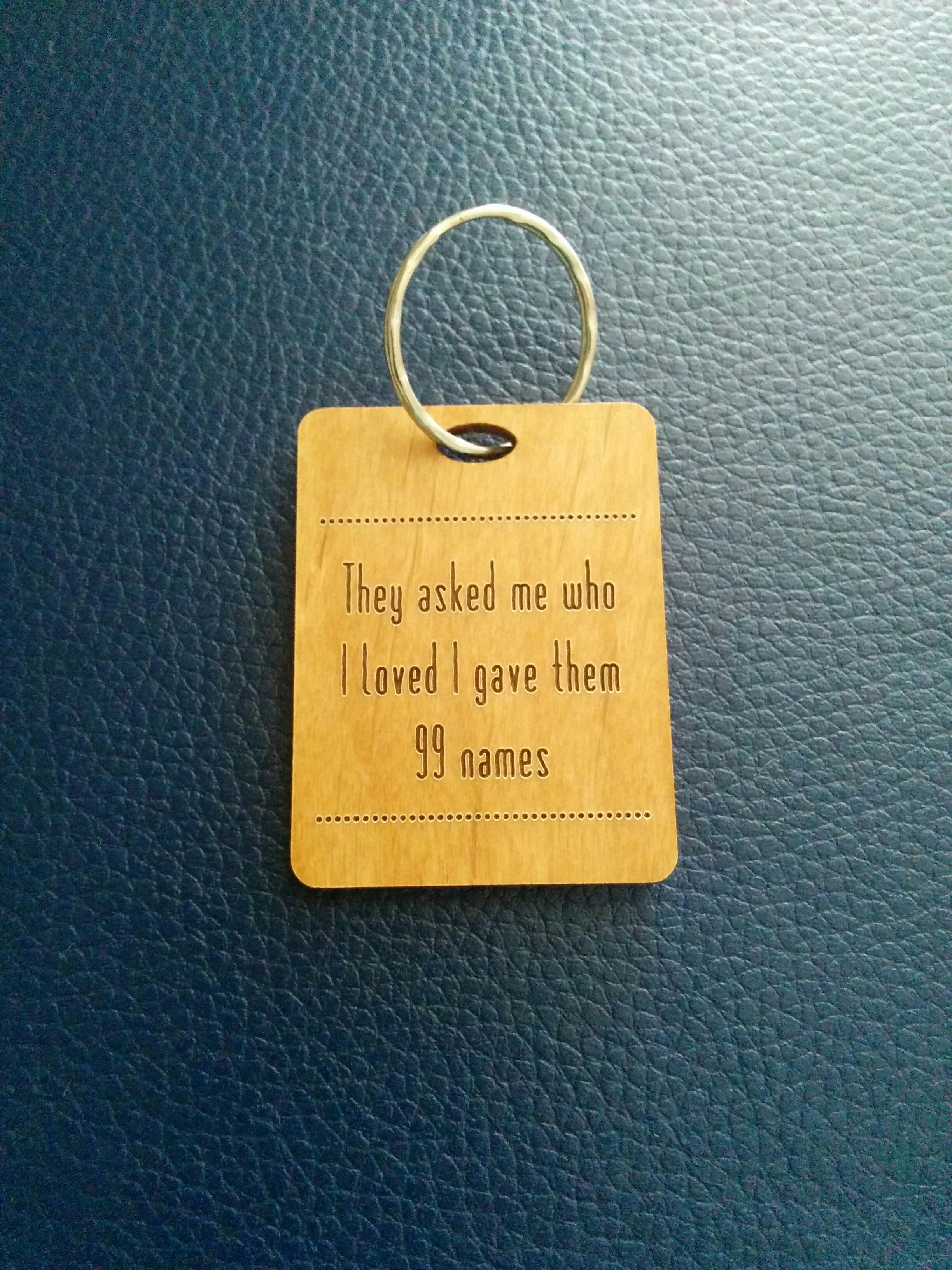 Thoughtful Gift Ideas 16: THIS keyring!
