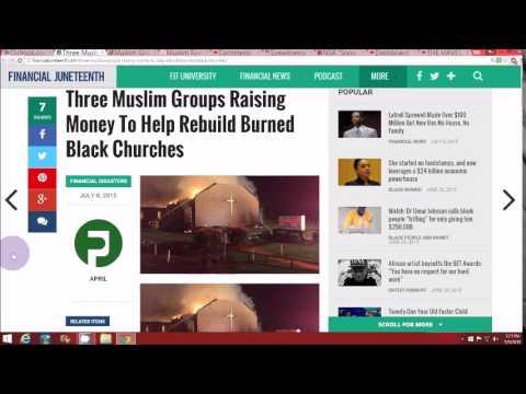 American Muslims raise money to repair Churches