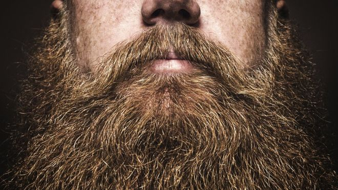 The benefit of beards!
