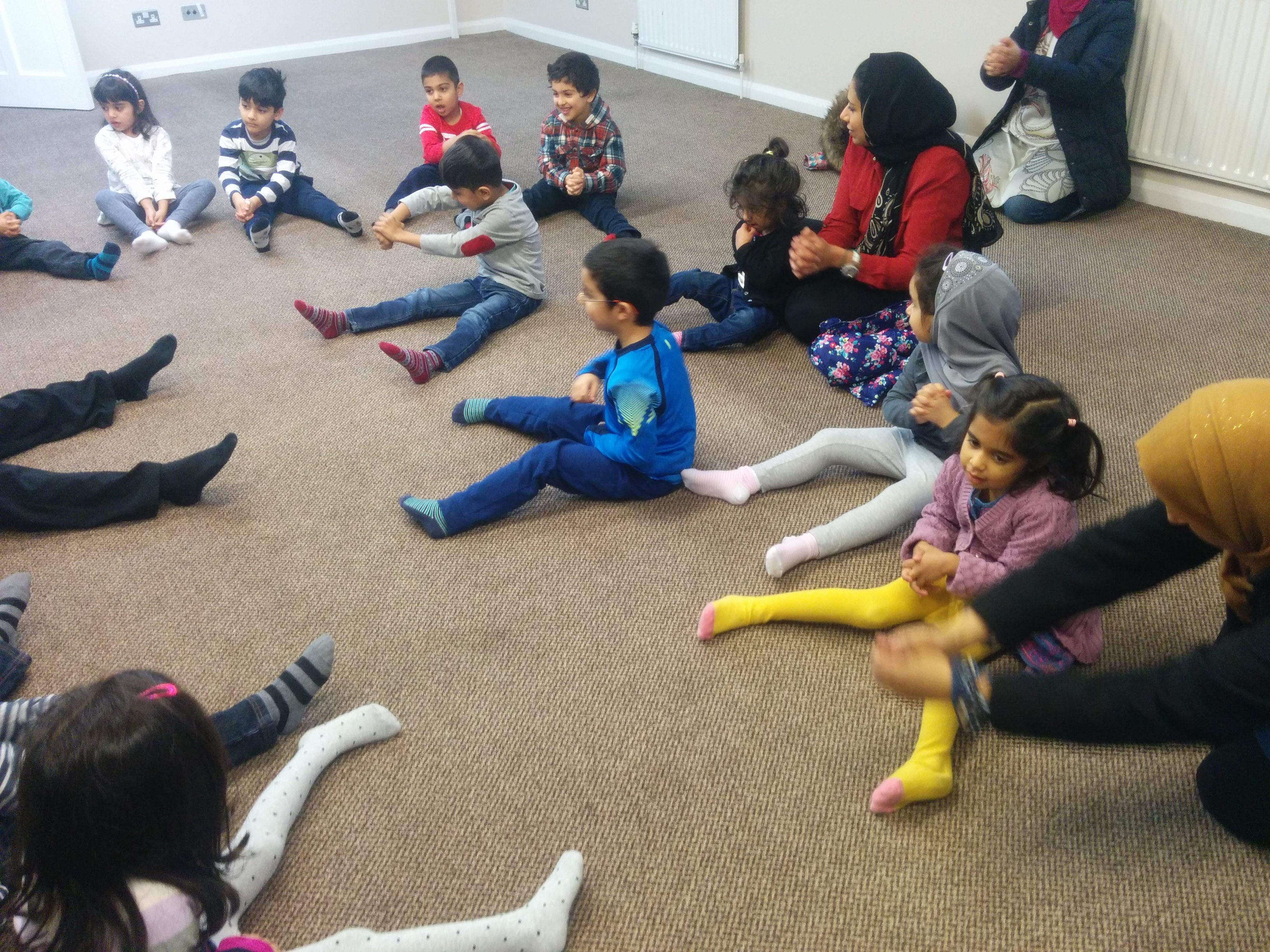 Yoga and Islam Activity Day