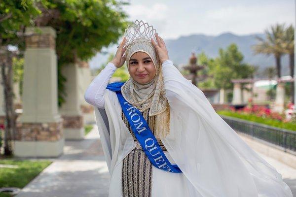 Muslim Hijaabi Prom Queen
