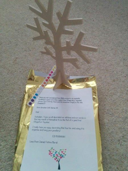 Thoughtful Gift Ideas 24: Jewellery Tree with meaning!