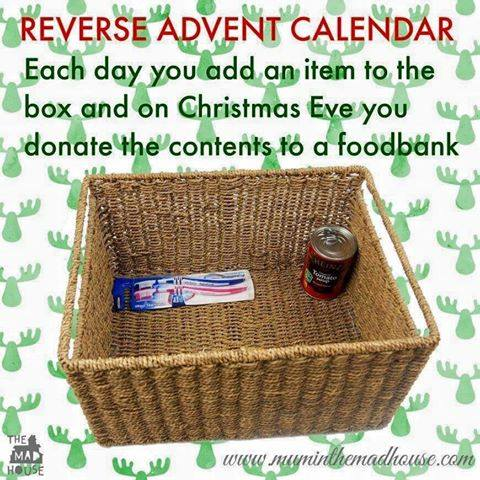 Hajj Idea 11: Reverse Advent Calendar