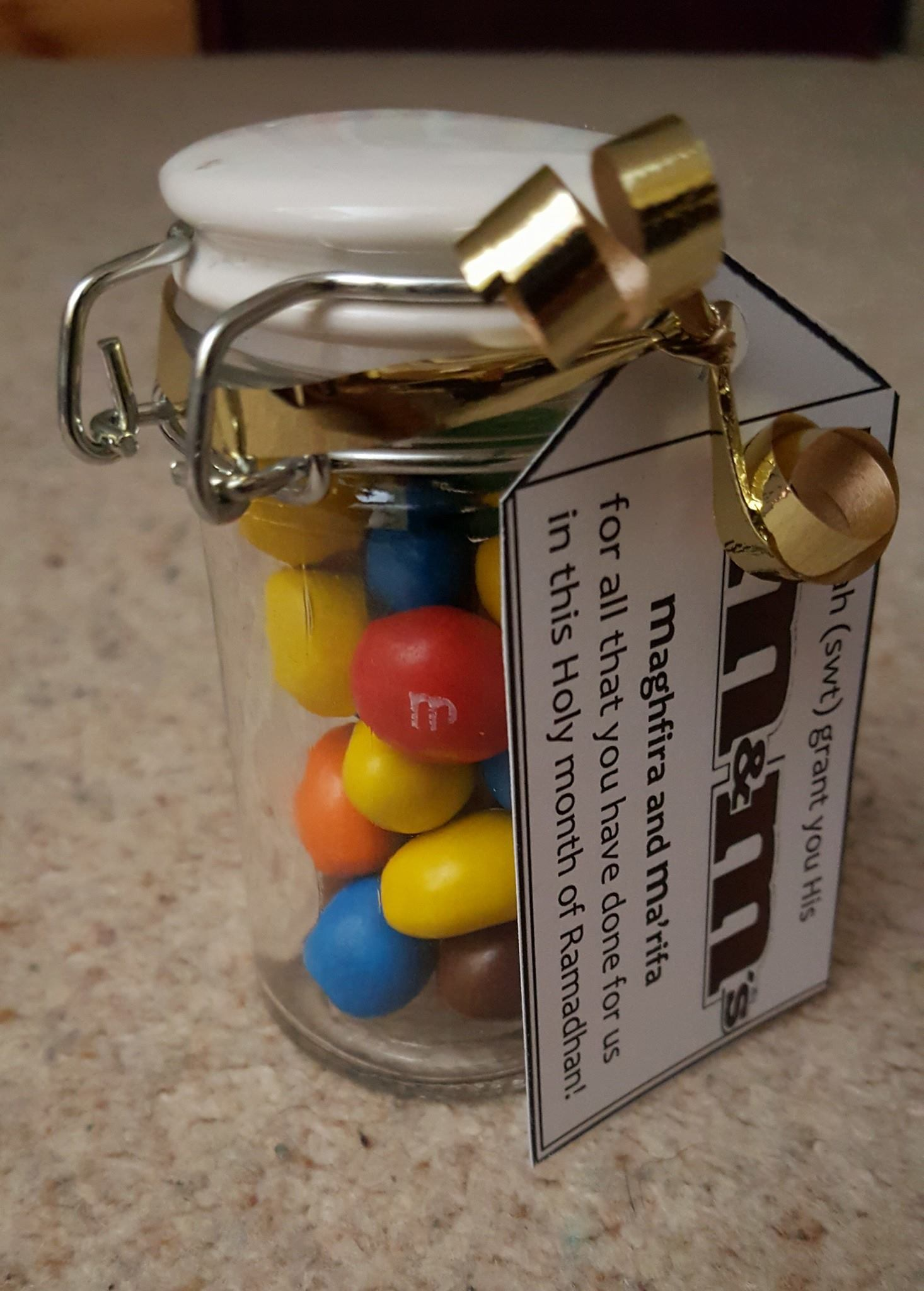 Thoughtful Gift Ideas 30: M&Ms with a twist