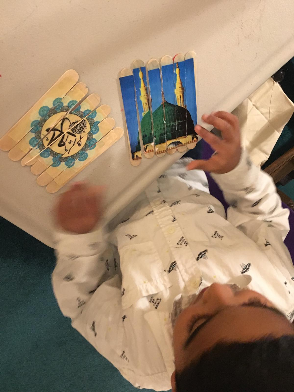 DIY Puzzles with Islamic Themes