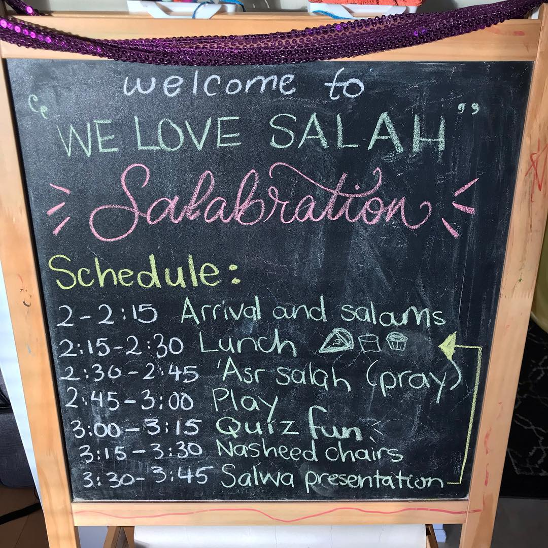 Salaah Idea 19: Make the Initiation to Salaah/Learning about Salaah engaging and exciting!