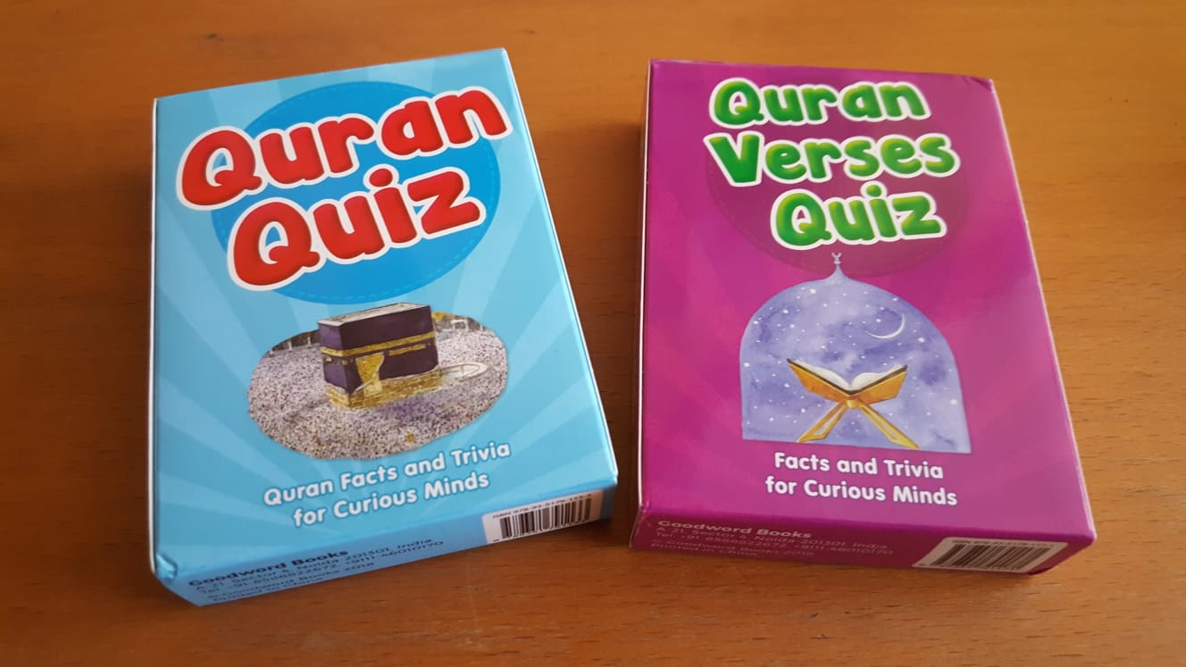 Familiarising our children with the Holy Quran – Idea 3: Quranic Quiz Cards