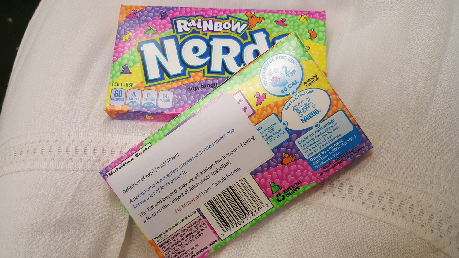 Thoughtful Gift Ideas 52: Nerds (for Allah!)