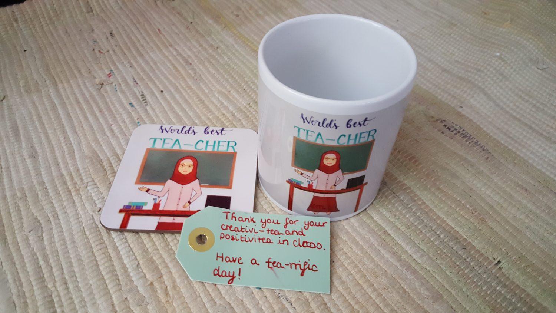 Thoughtful Gift Ideas 54: TEA mug for TEAchers!