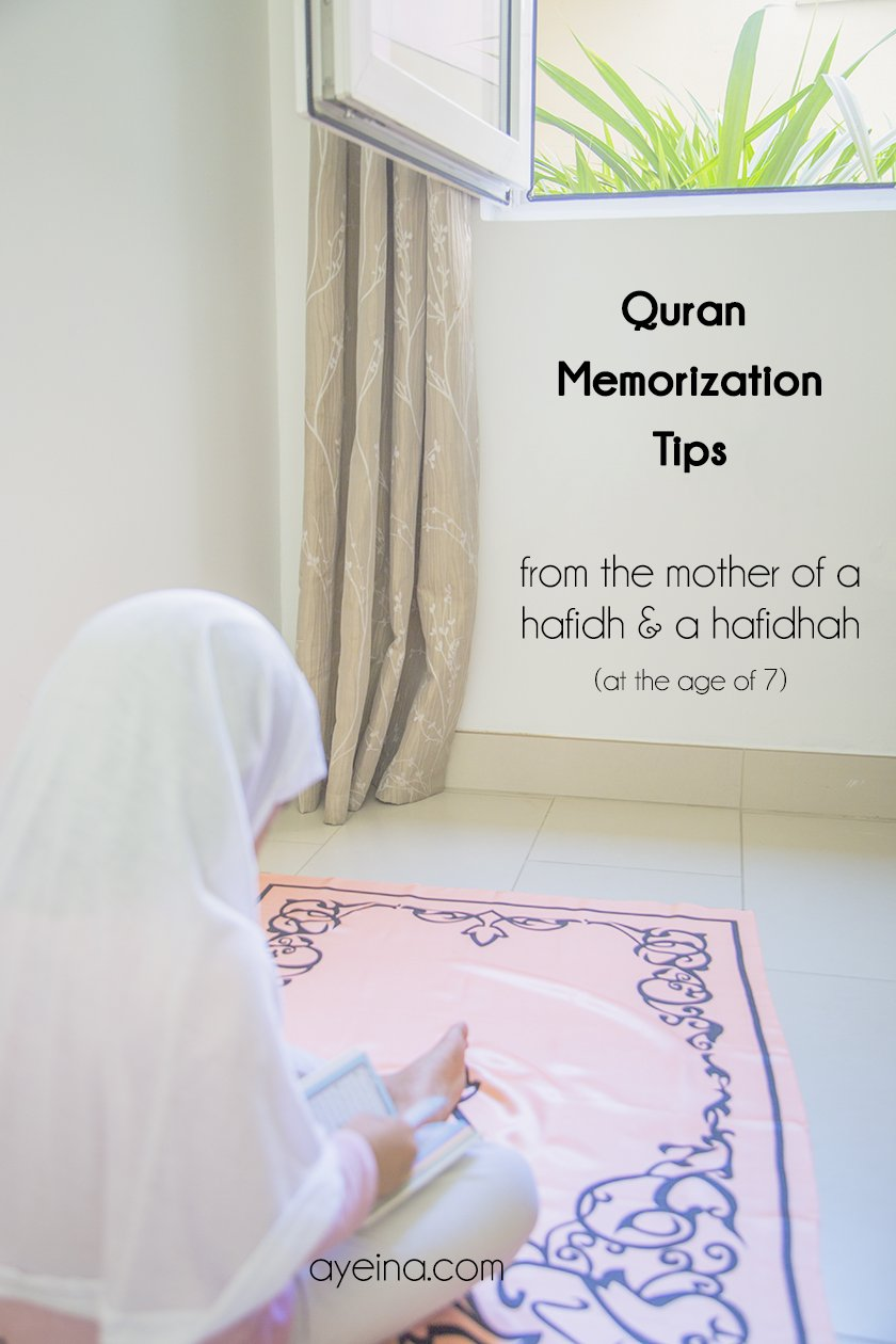 Quran Memorisation Tips – From a mother of a Hafidh and Hafidha