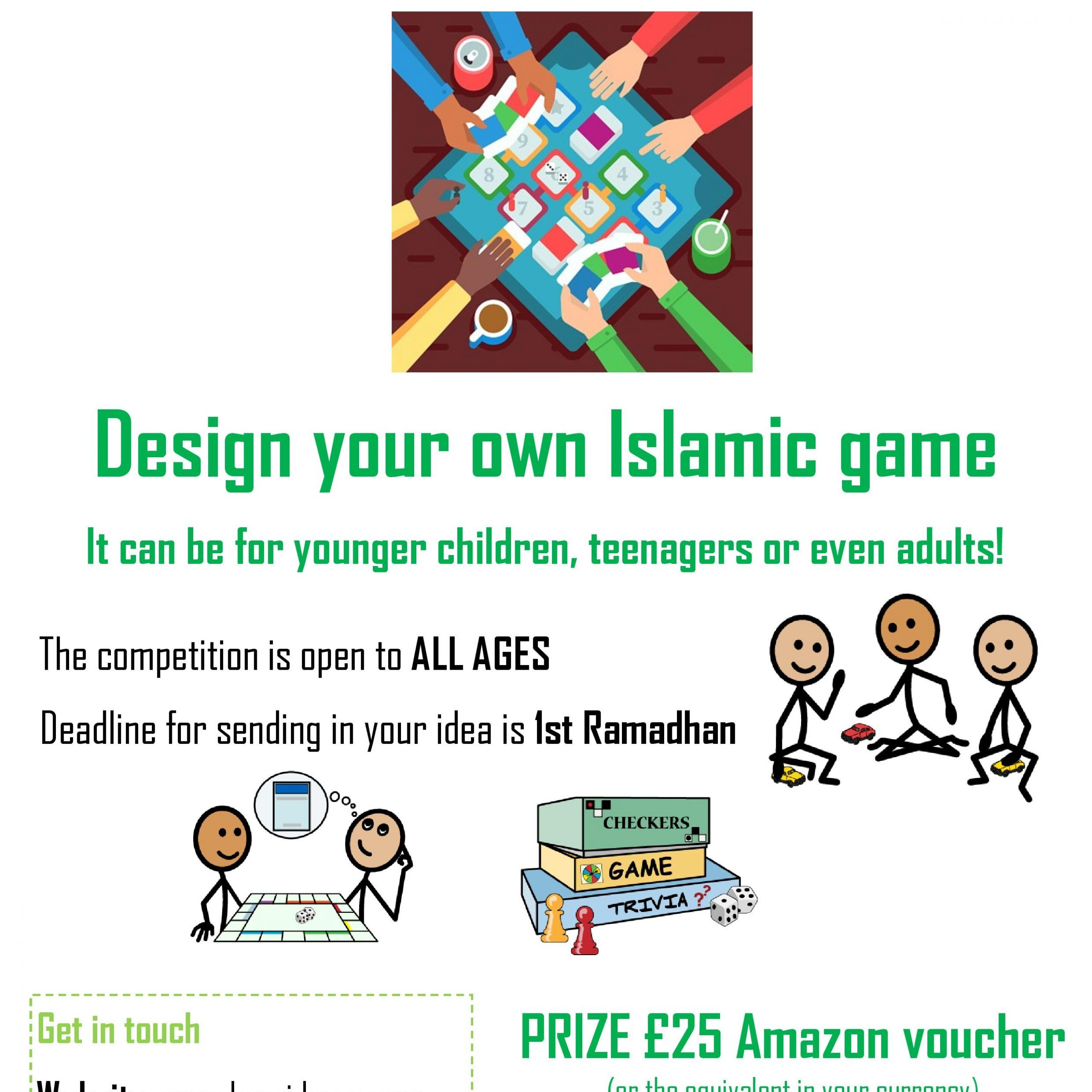 Islamic Game Competition – YOUR Entries!