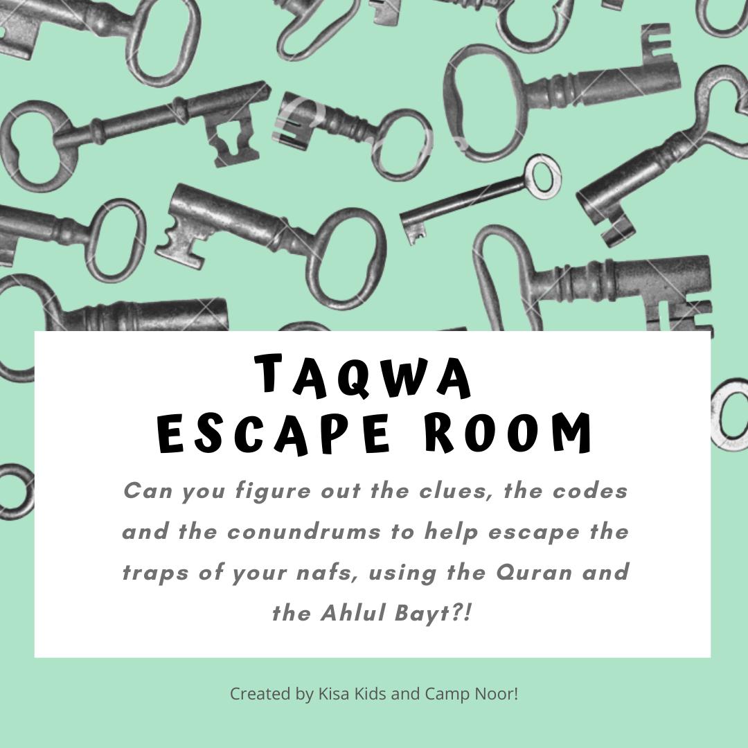 Taqwa Escape Room