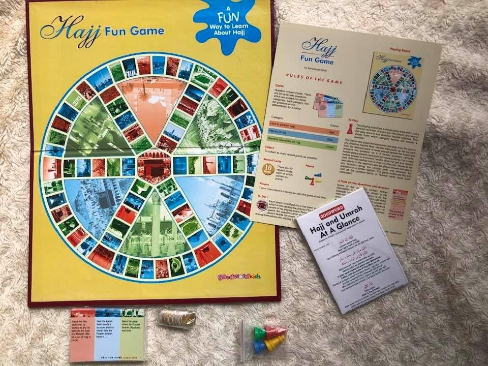 Hajj Idea 14: Play Hajj Games