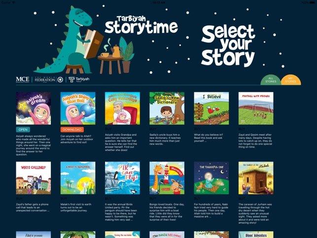 App 22 – Tarbiyah Storytime