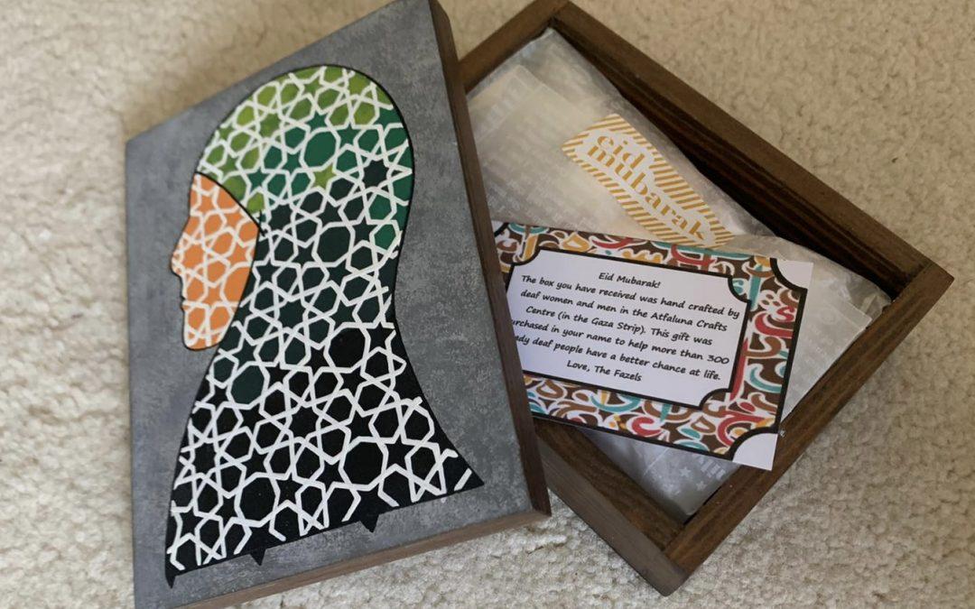 Thoughtful Gift Ideas 67: Box made in Gaza
