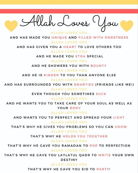 Thoughtful Gift Ideas 74: Allah Loves You Baskets